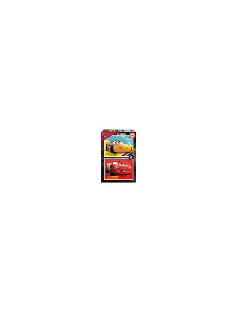Puzzle EDUCA BORRAS Cars3 2x20 3-5sños(17176)