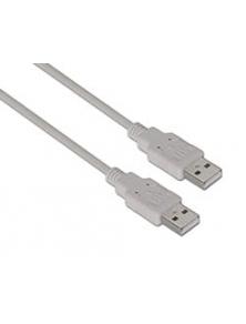 Cable AISENS USB2.0 A/M-A/M 2m Beige (A101-0022)