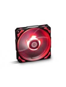 Ventilador NOX HFAN 12cm Rojo (NXHUMMERF120LR)