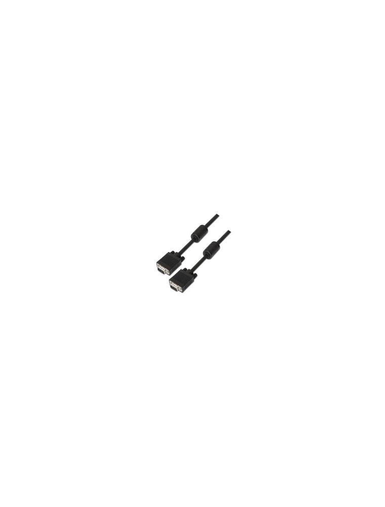 Nanocable SVGA Ferrita HDB15/M-HDB15/M 1m (10.15.0101)