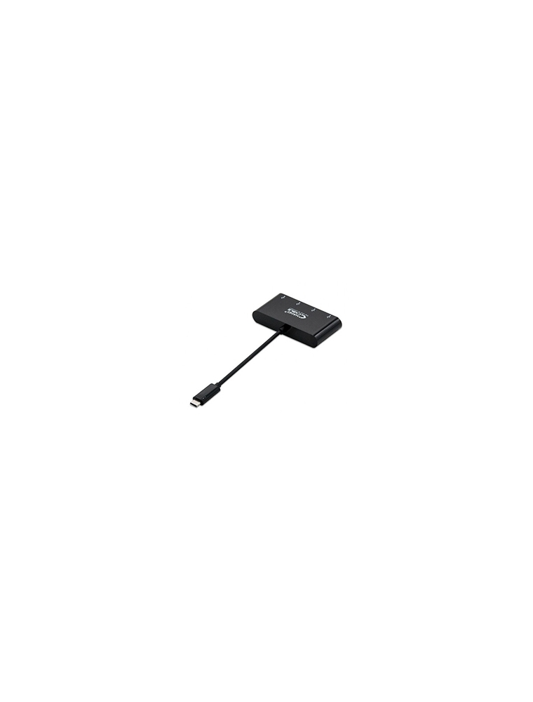 Nanocable USB-C/M-USB3.0/H Negro (10.16.4401-BK)