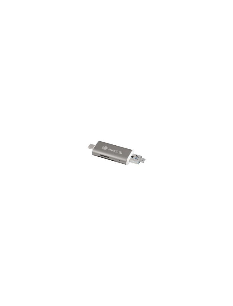 HUB NGS 5 en 1 USB Type-C (ALLY READER)