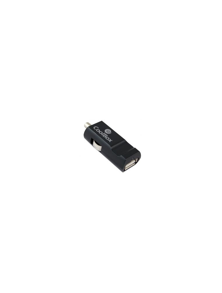 Cargador Adaptador USB coche Coolbox CDC-10