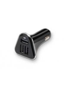 Cargador TOOQ coche 3usb Negro 5.4A (TQCC-2003)