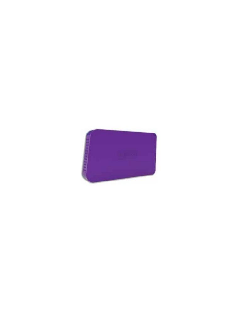 """Caja HDD APPROX 2.5"""" Sata USB3 Púrpura (APPHDD06P)"""
