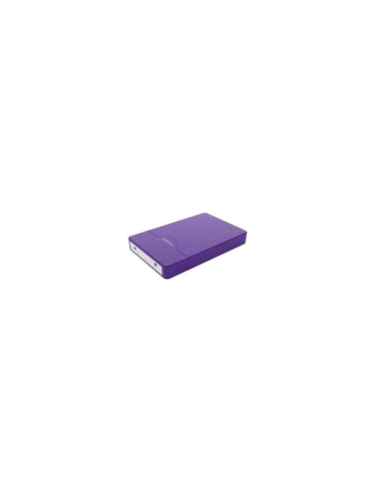 """Caja HDD APPROX 2.5"""" Sata USB2 Púrpura (APPHDD09P)"""