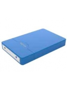 "Caja HDD APPROX 2.5"" Sata2 USB2 Azul (APPHDD09LB)"