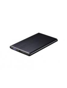 """Caja HDD TOOQ 2.5"""" Sata USB3.0 Negra (TQE-2529B)"""
