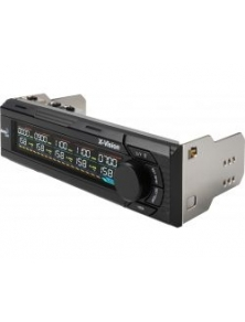 "Panel Frontal AEROCOOL 1x5,25"" LCD (XVision)"