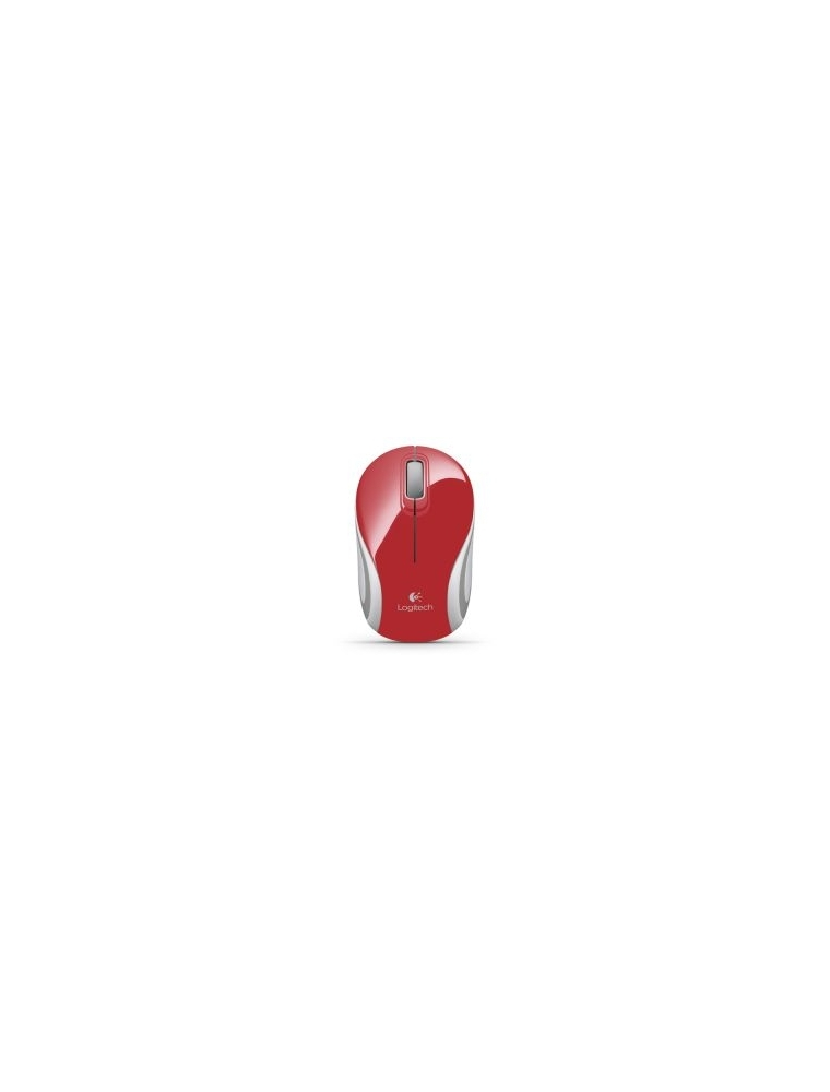 Raton LOGITECH M187 Wireless Rojo (910-002732)