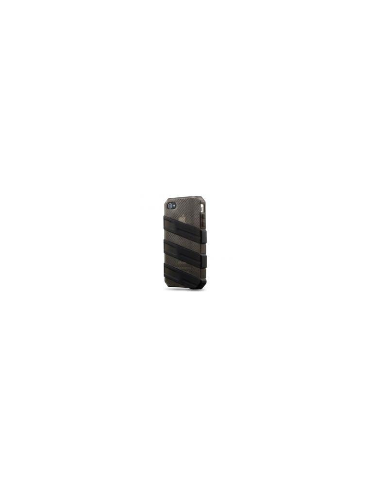 CoolerMaster IPHONE4S Funda Goma Negra (C-IF4C-HFCW-3K)