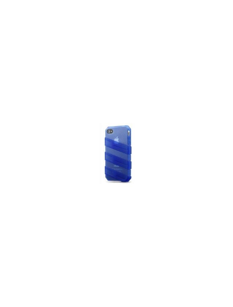 CoolerMaster IPHONE4S Funda Goma Azul (C-IF4C-HFCW-3B)