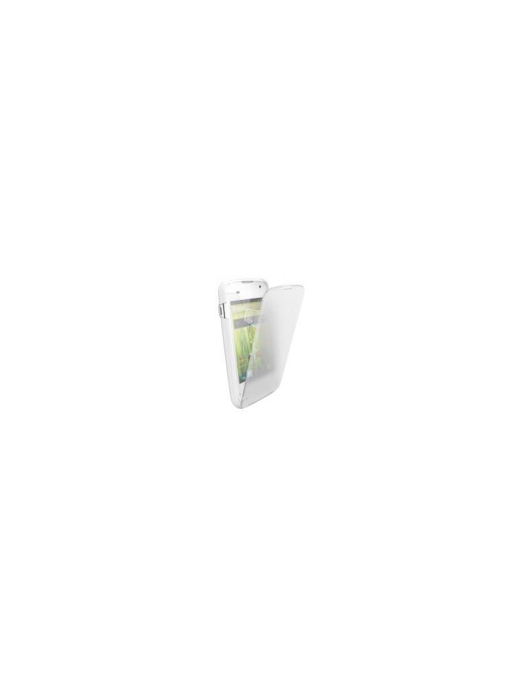 """Funda BQ Aquaris 3.5"""" SecondSkin Blanc+tapa(11BQFUN129)"""