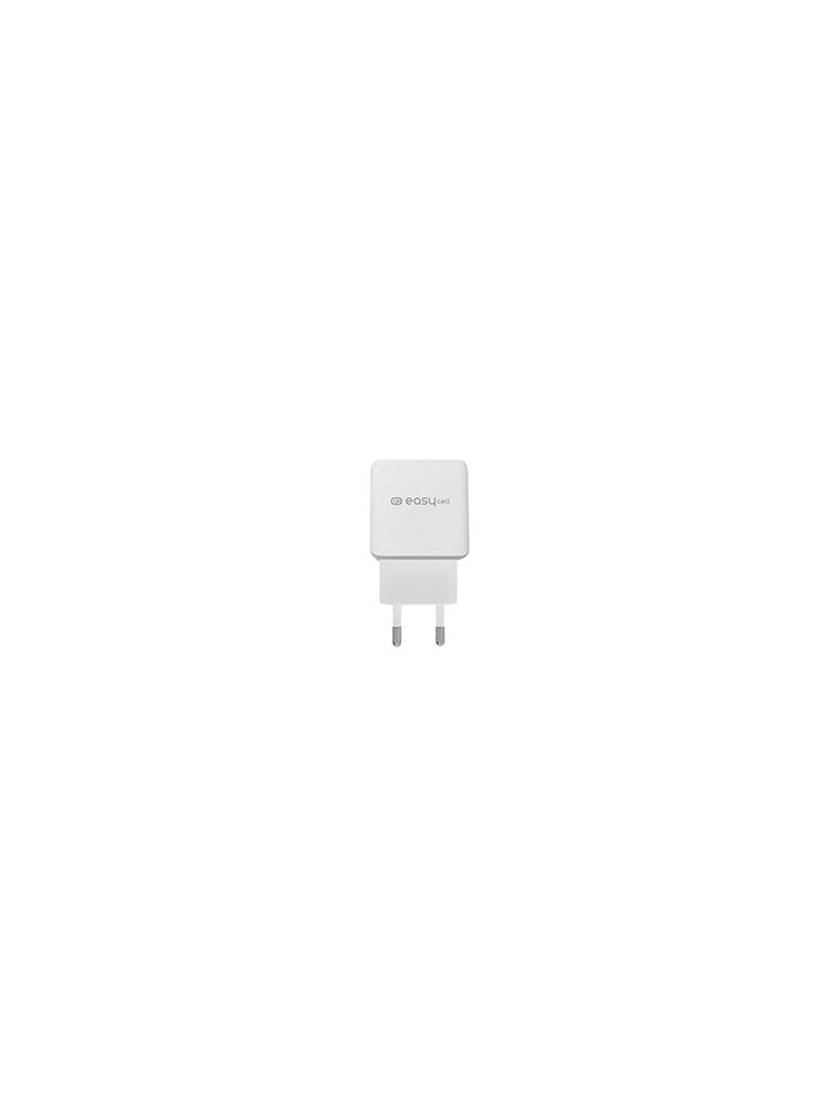 Cargador viaje SBS Easy Cell Blanco (TEECTR1USB1APOW)