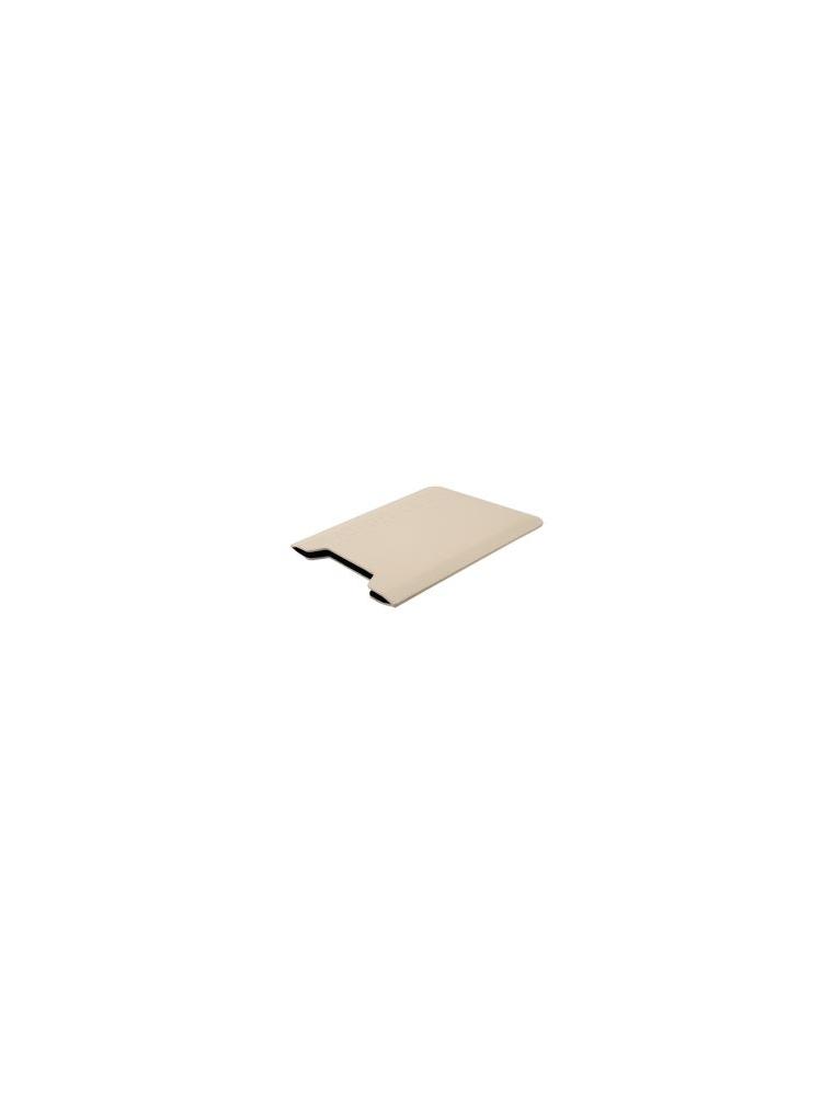 Funda ABRAZZIO Ipad Piel color Blanco