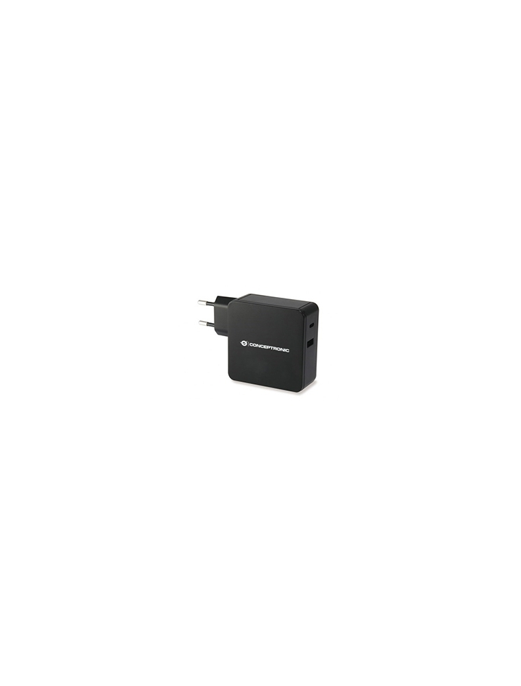Cargador pared CONCEPTRONIC 60W USB-C (ALTHEA02B)