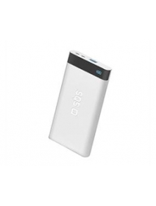 Powerbank SBS 5000mAh 1USB Blanco (TTBB50001UFLCDW)