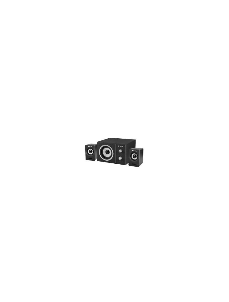 Altavoces NGS Multimedia 20W 2.1 USB Negro (SUGAR)