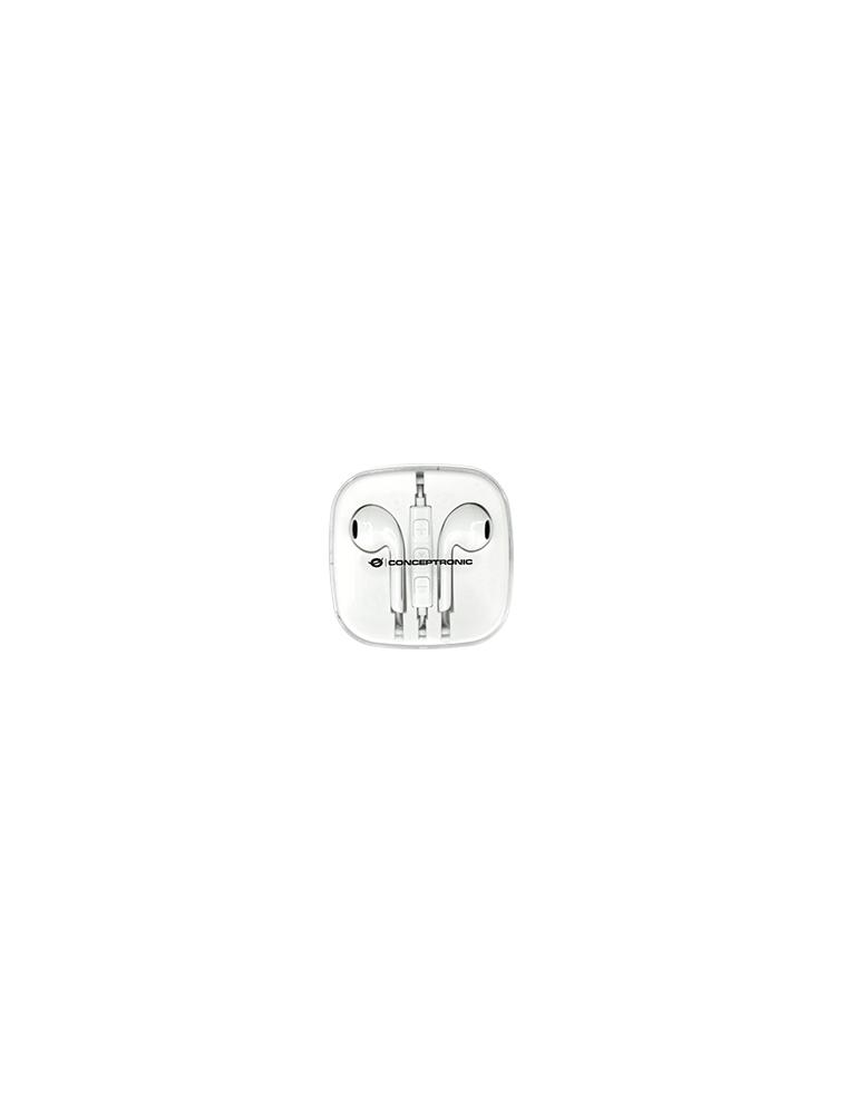 Auriculares CONCEPTRONIC Earbuds Jack3.5mm (CTEARPLUG5)