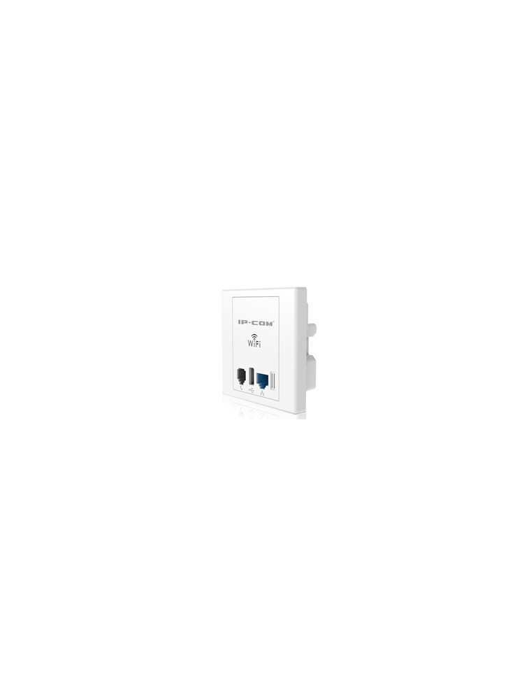 Pto. Acceso IP-COM 300Mbps Pared USB (hoteles) (W30AP)