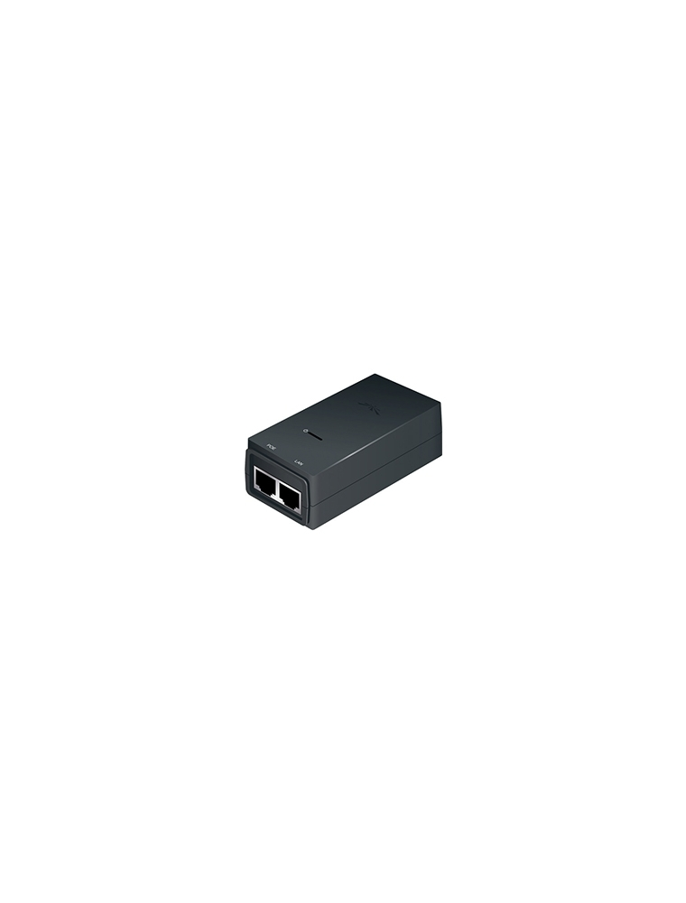 Inyector PoE UBIQUITI 24VDC 0.5A Gbit (POE-24-12W-G)