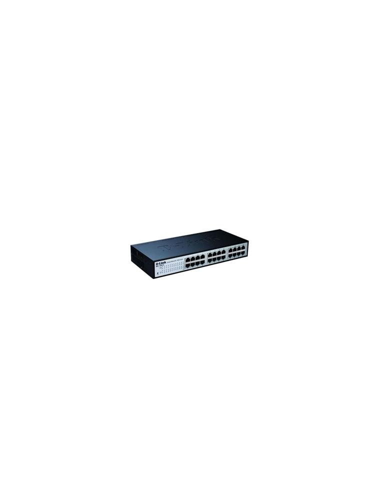 Switch D-Link 24P 10/100 Easy Smart (DES-1100-24)