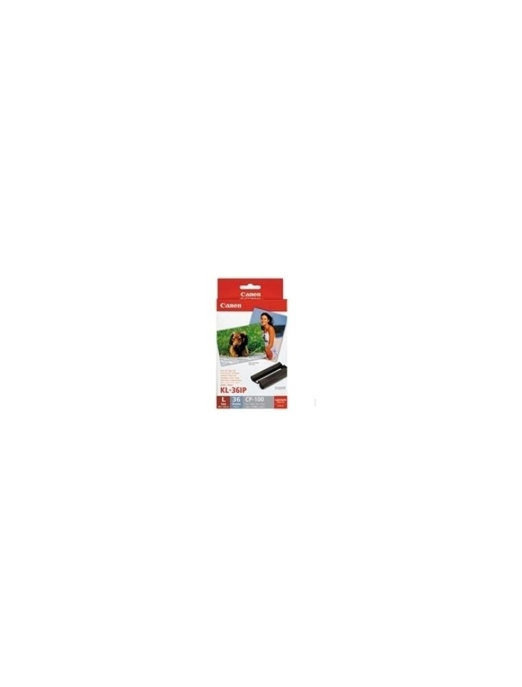 Tinta Canon KL-36IP + 36 h Pack (89x119mm) (7738A001)