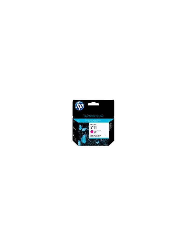 Tinta HP Magenta Pack de 3 (CZ135A) 29ml N711