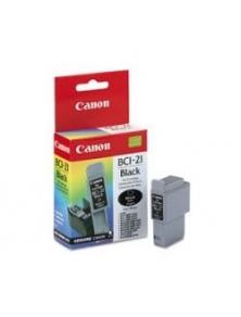 Tinta Canon BCI-21BK Negro (0954A003AA)